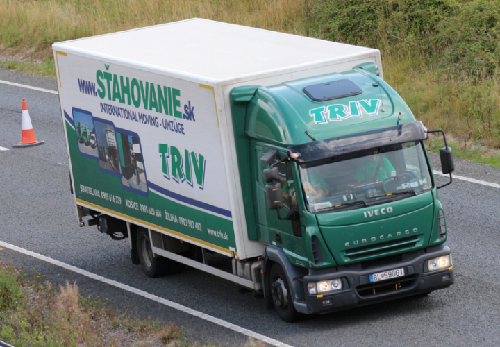 TRIV movers truck